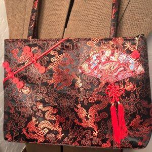 Satin purse